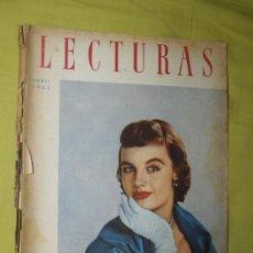 Coleccionismo de Revistas: REVISTA LECTURAS ABRIL 1955. Lote 18057209