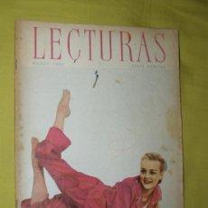 Coleccionismo de Revistas: REVISTA LECTURAS MARZO 1955. Lote 18057223