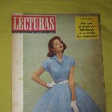 Coleccionismo de Revistas: REVISTA LECTURAS 15 JUNIO 1956. Lote 18057303