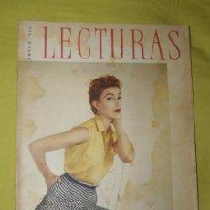 Coleccionismo de Revistas: REVISTA LECTURAS ENERO 1956. Lote 18057321