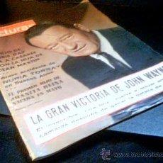 Coleccionismo de Revistas: LECTURAS. Nº 676. 2 DE ABRIL DE 1965. LA GRAN VICTORIA DE JOHN WAYNE.. Lote 18254591