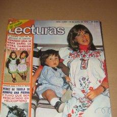 Coleccionismo de Revistas: LECTURAS - JUNIO 1976 - MARISOL EN PORTADA - POSTER DE CAT STEVENS. Lote 19850334
