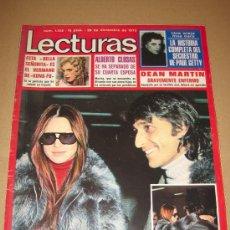 Coleccionismo de Revistas: LECTURAS - DICIEMBRE 1973 - MARISOL EN PORTADA . Lote 19850414