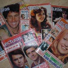 Coleccionismo de Revistas: LOTE REVISTA LECTURAS 1978 (16 NUMEROS). Lote 26017866