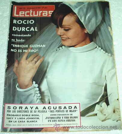 lecturas 28/1/1966- marisol en peru - rocio ves - comprar revista