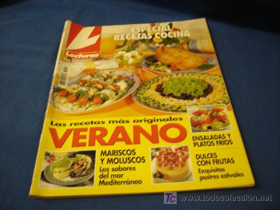 Recetas De Cocina De Verano | Lecturas Especial Recetas Cocina Verano Nº 21 Comprar Revista