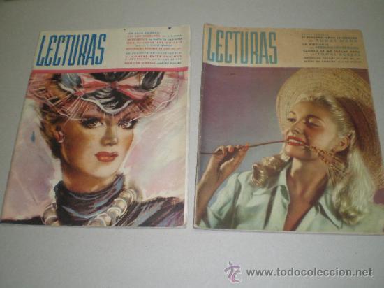DOS REVISTAS LECTURAS AÑO 1944 (Coleccionismo - Revistas y Periódicos Modernos (a partir de 1.940) - Revista Lecturas)