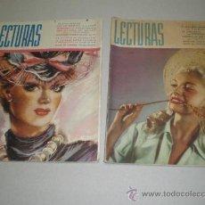 Coleccionismo de Revistas: DOS REVISTAS LECTURAS AÑO 1944. Lote 24858849