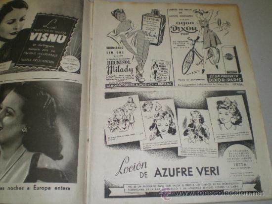 Coleccionismo de Revistas: DOS REVISTAS LECTURAS AÑO 1944 - Foto 3 - 24858849