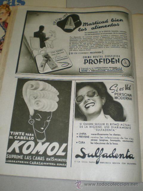 Coleccionismo de Revistas: DOS REVISTAS LECTURAS AÑO 1944 - Foto 4 - 24858849