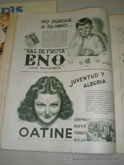 Coleccionismo de Revistas: DOS REVISTAS LECTURAS AÑO 1944 - Foto 5 - 24858849