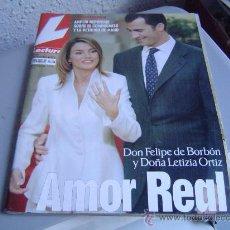 Collectionnisme de Magazines: REVISTA LECTURAS. AMOR REAL.. Lote 22699163