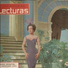 Coleccionismo de Revistas: REVISTA LECTURAS Nº587---19-6-1963--SARA MONTIEL. Lote 27148046