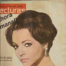 Coleccionismo de Revistas: LECTURAS Nº521--13-4-1962--SARA MONTIEL. Lote 27040587
