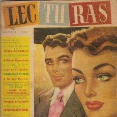 Coleccionismo de Revistas: LECTURAS Nº334--AGOSTO DE 1952. Lote 24872382