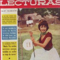 LECTURAS Nº 437, OCTUBRE 1958: JAYNE MANSFIELD. MARIA SCICOLONE. ROBIN DOUGLAS. DIETER VON MALSEN.