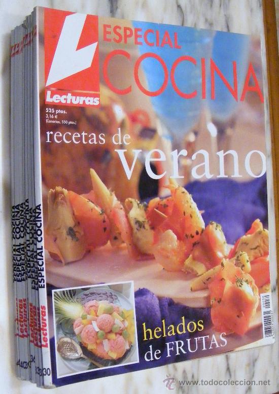 LOTE COMPUESTO POR 9 REVISTAS LECTURA , ESPECIAL COCINA (Coleccionismo - Revistas y Periódicos Modernos (a partir de 1.940) - Revista Lecturas)