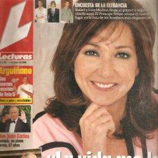 Coleccionismo de Revistas: REVISTA LECTURAS Nº 2. 755 - 14 DE ENERO DE 2005 FALTA POSTER. Lote 23527715