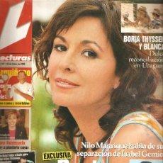 Coleccionismo de Revistas: REVISTA LECTURAS Nº 2.757 - 28 DE ENERO DE 2005 FALTA POSTER. Lote 23545694
