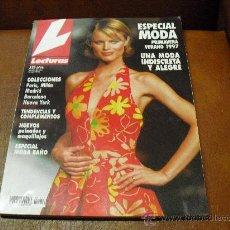 Coleccionismo de Revistas: REV LECTURAS Nº 12 ESP. MODA PRIMAVERA VERANO 1997 - COLECC. PARIS, MILAN, MADRID BARCELONA N. YORK. Lote 26728387