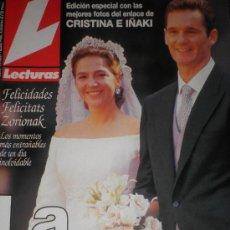 Coleccionismo de Revistas: BODA INFANTA CRISTINA E IÑAKI URDANGARIN. 2 REVISTAS. 28 DE SETIEMBRE DE 1997. Lote 27197470