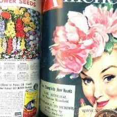 Coleccionismo de Revistas: AMERICAN MAGAZINE - CUATRO REVISTAS AÑO 1949. Lote 28422586