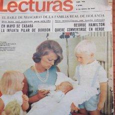 Coleccionismo de Revistas: REVISTA LECTURAS Nº 768 - 6 ENERO 1967 . Lote 28708907