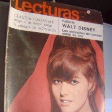 Coleccionismo de Revistas: REVISTA LECTURAS. Lote 28751813