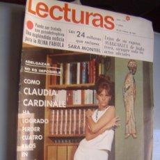 Coleccionismo de Revistas: REVISTA LECTURAS. Lote 28751826