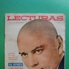 Coleccionismo de Revistas: LECTURAS Nº 442 1 DE ENERO DE 1959 - YUL BRYNNER - GRACE KELLY. Lote 28942768