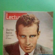 Coleccionismo de Revistas: LECTURAS Nº 493 15 DE FEBRERO DE 1961 - CHARLTON HESTON - FABIOLA - CARMEN SEVILLA. Lote 28944750