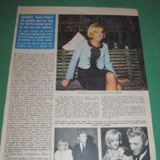 Coleccionismo de Revistas: ARTICULO DE LA REVISTA LECTURAS ~ SYLVIE VARTAN Y JOHNNY HALLIDAY ~ 18 PAG 27 FOTOS. Lote 29269141