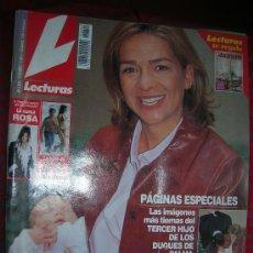 Coleccionismo de Revistas: LECTURAS Nº 2615 CON SUPLEMENTO DECORACIÓN 17 /5 /2002. Lote 29291442