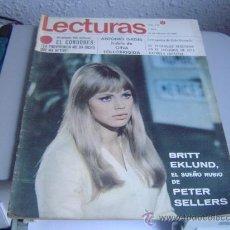 Coleccionismo de Revistas: REVISTA LECTURAS. Lote 29472759
