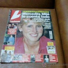 Coleccionismo de Revistas: REV. 7/2000 LECTURAS. MERCEDES MILA RPTJE.YAGO LAMELA,R.JURADO.MAR FLORES. Lote 29573517