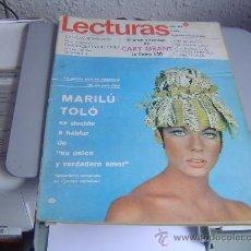 Coleccionismo de Revistas: REVISTA LECTURAS.. Lote 29623992
