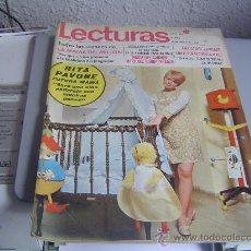Coleccionismo de Revistas: REVISTA LECTURAS.. Lote 29624061