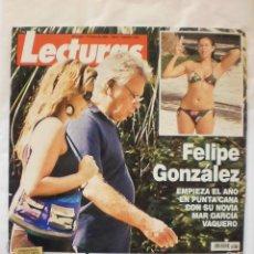 Coleccionismo de Revistas: REVISTA LECTURAS. Nº2964. ENE 2009. FELIPE GONZALEZ CON SU NOVIA MAR GARCIA VAQUERO. Lote 29748727