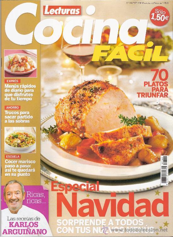 Lecturas cocina facil especial navidad 70 pl comprar - Cocina facil manises ...