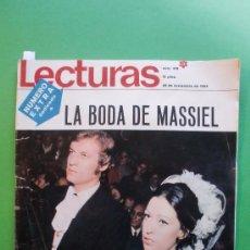 Coleccionismo de Revistas: LECTURAS Nº 919 28 DE NOVIEMBRE DE 1969 EXTRA LA BODA DE MASSIEL - FRANK SINATRA - SERRAT. Lote 30168391