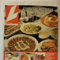 Coleccionismo de Revistas: REVISTA LECTURAS. ESPECIAL RECETAS COCINA. Nº5. 1992?. COMPLETA TU COLECCION. VER INFO. Lote 30986716