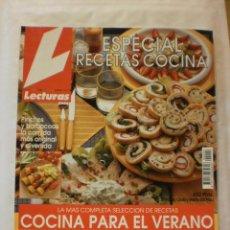 Coleccionismo de Revistas: REVISTA LECTURAS. ESPECIAL RECETAS COCINA. Nº9. 1993. COMPLETA TU COLECCION. VER INFO. Lote 30987058