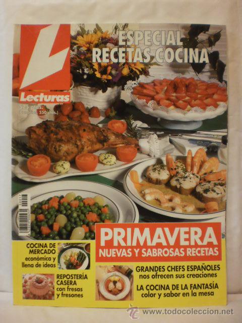 REVISTA LECTURAS. ESPECIAL RECETAS COCINA. Nº17. 1996. COMPLETA TU COLECCION. VER INFO (Coleccionismo - Revistas y Periódicos Modernos (a partir de 1.940) - Revista Lecturas)