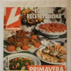 Coleccionismo de Revistas: REVISTA LECTURAS. ESPECIAL RECETAS COCINA. Nº17. 1996. COMPLETA TU COLECCION. VER INFO. Lote 30993211
