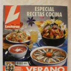 Coleccionismo de Revistas: REVISTA LECTURAS. ESPECIAL RECETAS COCINA. Nº18. 1996. COMPLETA TU COLECCION. VER INFO. Lote 30993266