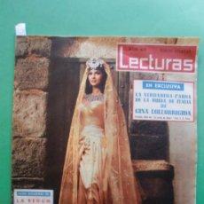 Coleccionismo de Revistas: LECTURAS Nº 473 13 ABRIL 1960 GINA LOLLOBRIGIDA - CHARLTON HESTON - LOLA FLORES Y ANTONIO GONZALEZ. Lote 31026969