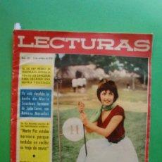 LECTURAS Nº 437 15 OCTUBRE 1958 JAYNE MANSFIELD - YVES SAINT-LAURENT - GRETA GARBO