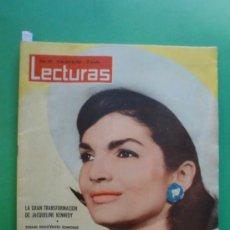 Coleccionismo de Revistas: LECTURAS Nº 523 27/04/1962 MAURICE CHEVALIER - J. KENNEDY - GRACE KELLY - SUSAN HAYWARD. Lote 31198180