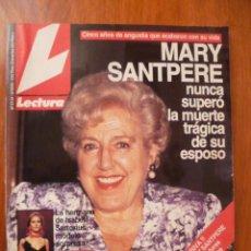 Coleccionismo de Revistas: LECTURAS Nº 2114 - 9 DE OCTUBRE 1992 . Lote 31329154