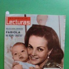 Coleccionismo de Revistas: LECTURAS Nº 652 16-10-1964 CARMEN SEVILLA - VICENTE PARRA - SIDNEY POITIER EN LIRIOS DEL VALLE. Lote 31387795